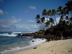 Hawaii, the north shore