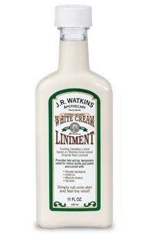 White Cream Liniment | J.R. Watkins