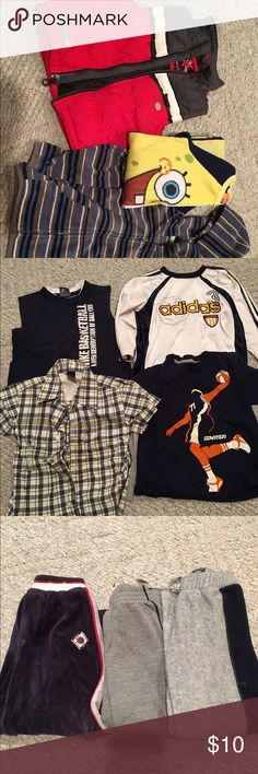 Boys clothes! 10 items for $10 Variety of boys clothes in good condition. I have a little bit of everything! Sizes range from 3T-6/7.  Please let me know which items you would prefer or if your looking for something specific! Other