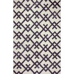 nuLOOM Hand-tufted Indoor/ Outdoor Teepee Black Rug (5' x 8') | Overstock™ Shopping - Great Deals on Nuloom 5x8 - 6x9 Rugs