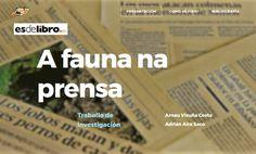 MENCIÓN --- A fauna na prensa - Equipo Prensa (Arnau Visuña Costa y Adrián Aira Saco). CPI Poeta Uxío Novoneyra (Folgoso do Courel, Lugo). Costa, Fauna, Printing Press