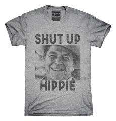 Ronald Reagan Says Shut Up Hippie T-Shirt, Hoodie, Tank Top