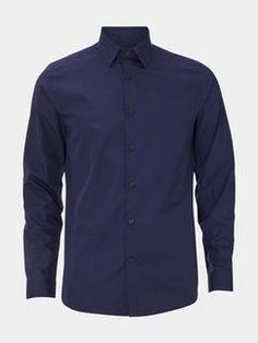 Slim Navy Smart Shirt