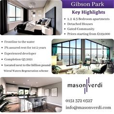 Liverpool City Centre, New Brighton, Investment Companies, 3 Bedroom Apartment, Property Development, Estate Agents, Gated Community, Apartments For Sale, Detached House