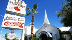 A quickie Vegas wedding is a time-honored tradition. And the place to go is the Little White Chapel on the Strip. Open 24/7, the chapel has married off an estimated 800,000 couples since 1951. Former Dixie Chicks singer Natalie Maines got hitched here. So did Paul Newman and Joanne Woodward.