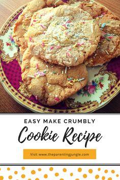 Recipe for easy make cookies, Bake, Sainsburys, Cook, Treats, Vanilla, Biscuit, Easy, Children