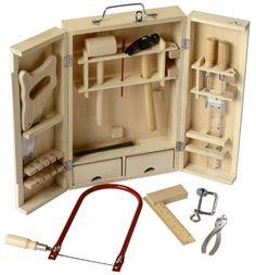 g nstig online entdecken werkzeugbank aus holz mit reichlich zubeh r wie hammer arbeitsh he. Black Bedroom Furniture Sets. Home Design Ideas