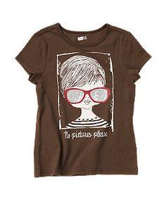 fashion girl tee