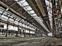 廃工場 壁紙 - Ruins WALLPAPER