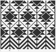 Billedresultat for mochila bag crochet pattern free Crochet Diy, Crochet Chart, Tapestry Crochet Patterns, Bead Loom Patterns, Cross Stitch Patterns, Motif Navajo, Navajo Pattern, Navajo Rugs, Loom Bands