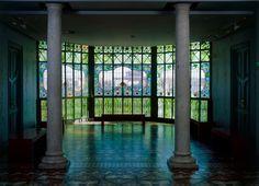 Joaquín de Vargas y Aguirre (1857- 1935). Casa Lis, sala de las columnas. 1905-1906. Museo Art Nouveau y Art Déco Casa Lis - Salamanca - Spain