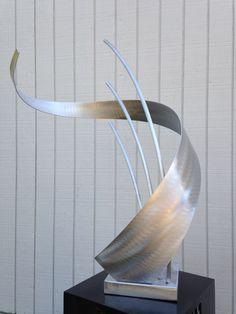 Abstract Metal art  indoor/outdoor garden sculpture   by Holly Lentz on Etsy, $129.00