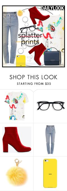 """""""#112 Splatter Print (Contest Entry)"""" by redpepperstyle ❤ liked on Polyvore featuring Marc Jacobs, Yves Saint Laurent, Vetements, Fendi, Casetify and Givenchy"""