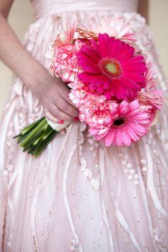 Bride in Watters soledad gown.... amazing color combination