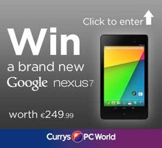 Win a Google Nexus 7 16GB. Just answer a question to be in for a chance of winning. Nexus 7, Google Nexus, Beautiful Landscapes, This Or That Questions