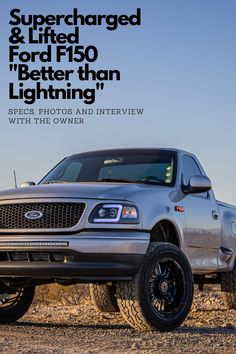 Ford F150 Modifications : modifications, Lifted, Trucks, Off-road, Ideas, Ford,