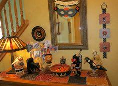 Halloween 2013 hallway display.