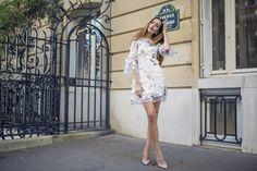 PFW DAY 3: BUTTERFLY DRESS • MartaMademoiselle