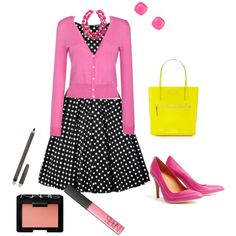 """""""pretty in pink"""" by csallsazar on Polyvore"""