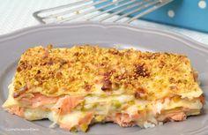 lasagne salmone e pistacchi