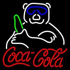 Coca Cola Panda Neon Sign