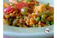 Paella vegan - Veggiebulle