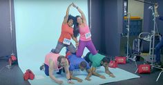 Blinc Fitness has a body positive ad that is amazing and they are only featuring real members.