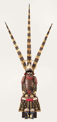 Okegawadō Tosei gusoku (armor) at the Museum of Civilization, Hull, Canada