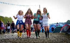 Laura Murray, Heather Fishburn, Amy Lumb and Ellice Hey, all 17 from Halifax, tackled the . Enjoy The Sunshine, Music Festivals, Amy, Tops, Fashion, Moda, Fashion Styles, Fashion Illustrations, Fashion Models