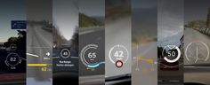 Eight design principles inspired by eight student projects on the future of car head-up displays.