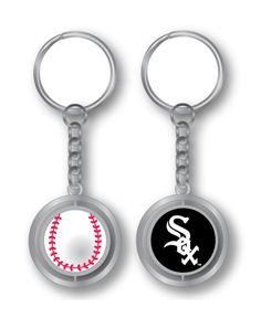Aminco Chicago White Sox Spinning Baseball Key Ring