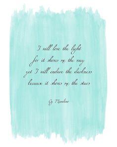 Og Mandino inspirational quote #watercolor #art