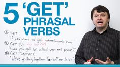 Get is a tricky word. It is also a very popular verb in English phrasal verbs. Learn 5 of them in this essential lesson and you will definitely get ahead!