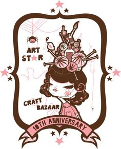 Philly! Art Star Craft Bazaar is this weekend!! - http://art-nerd.com/newyork/philly-art-star-craft-bazaar-is-this-weekend/