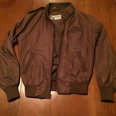 Member's Only jacket. Brown Vintage! Men's or Ladies Member's Only Jacket. It's VINTAGE!! Brown size 34. Great condition! Member's Only Jackets & Coats