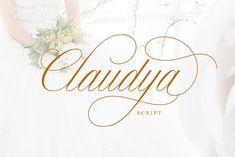 Claudya Script by HRLN on @creativemarket