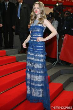 Amanda Seyfried at the Premiere of 'Les Miserables' during the 63rd annual Berlin International Film Festival aka Berlinale at Friedrichstadtpalast in Berlin, Germany   The Trend Diaries - The Latest Celebrity Style, Fashion, and Beauty Trends