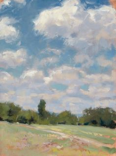 Summer Meadow by John MacDonald, Juror for the 2016 Plein Air Fest. Abstract Oil, Abstract Landscape, Landscape Paintings, Landscapes, Farm Paintings, Impressionist Paintings, Oil Pastel Drawings, Spring Painting, Painting Inspiration