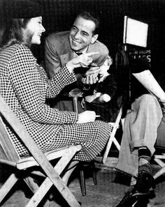 Humphrey Bogart and Lauren Bacall, 1944.