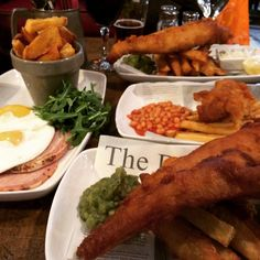 Fish and chips - The Star, Lingfield
