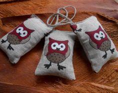 Lavender Sachet Bag Baby Showers Favor Bridal Showers Favors Wedding Favors Housewarming Gifts Owl Decor Lavender Wedding
