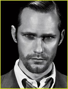 and....here we have our Mr. Christian Grey!! -Fifty Shades of Grey  (Alexander Skarsgard) favorite-people