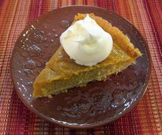 SCD pumpkin pie.  This is the BEST SCD version I have found.  Redstripes rectangle editedIMG_0715