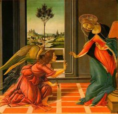 Sandro Botticelli - The Cestello Annunciation