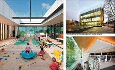 Surry Hills Library - rooftop child care centre