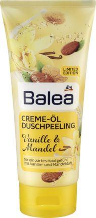 Creme-Öl Duschpeeling Vanille & Mandel