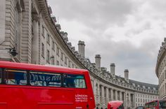 new double-decker bus in the city of London