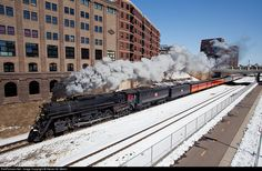 RailPictures.Net Photo: MILW 261 Milwaukee Road Steam 4-8-4 at Minneapolis, Minnesota by Steven M. Welch