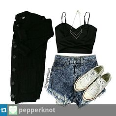 Cute teen outfit with converse
