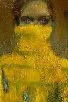Barbara Porczyńska, Jealousy, oil on canvas 2015
